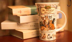 Der Werbegeschenk Porzellan Trinkbecher Keramikbecher mit verschiedenen bedruckten Designs für alle Märkte