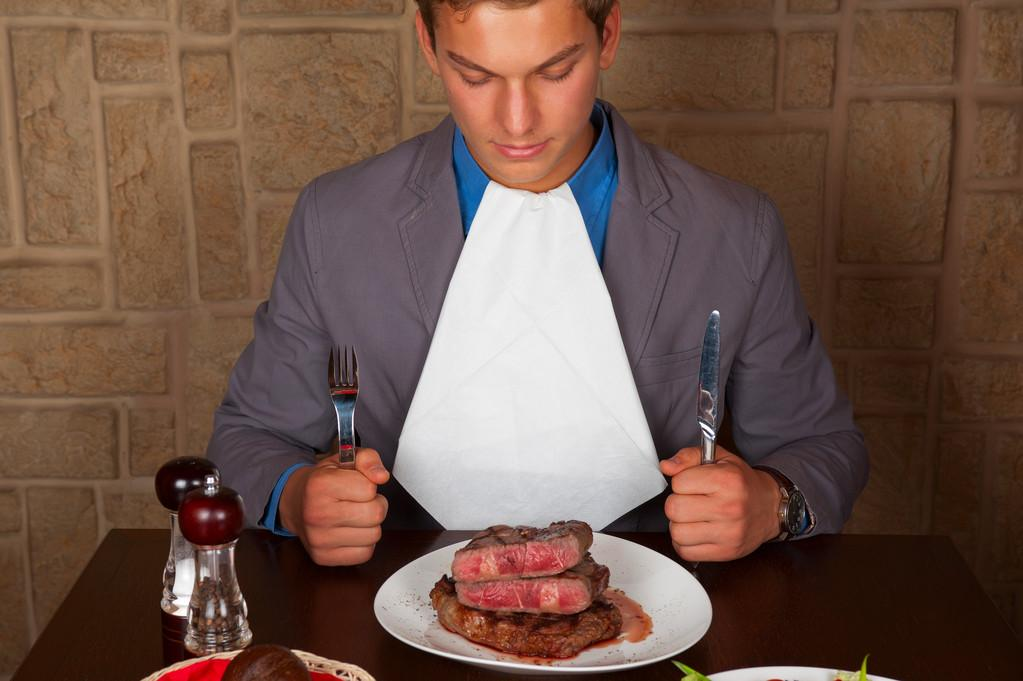 How To Handle Steak Knife And Fork