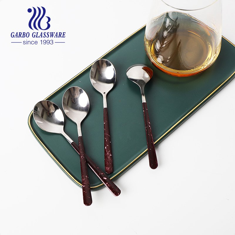 Wholesale Factory cutlery flatware set Stainless steel dinner Spoon with Logo