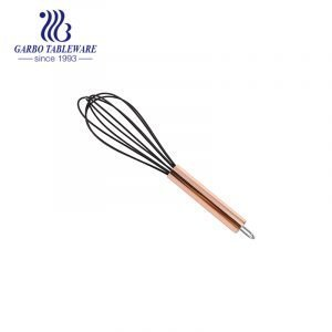 Nylon Cooking Utensil Sets  Cookware Non-stick Heat Resistant with Stainless Steel Rose Gold Handle