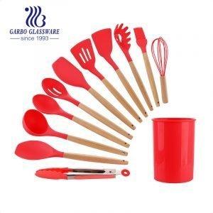 BPA Free  Cooking Kitchen Utensils Set Non-stick Heat Resistant Best Kitchen Cookware