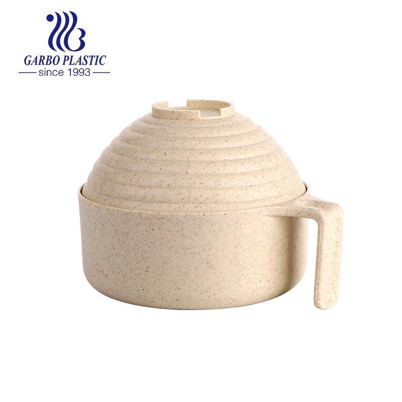 tigela com tampa de design decorativo da fábrica da China
