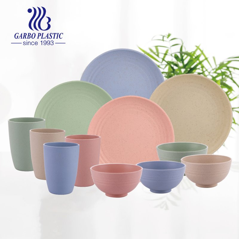 Garbo Offers New Plastic Material-Wheat Straw Plastic