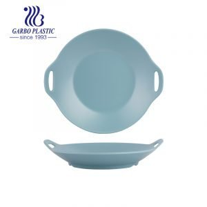 Unbreakable & Stackable Plastic Large Serving Bowl with handles Pasta Bowls in Blue Color