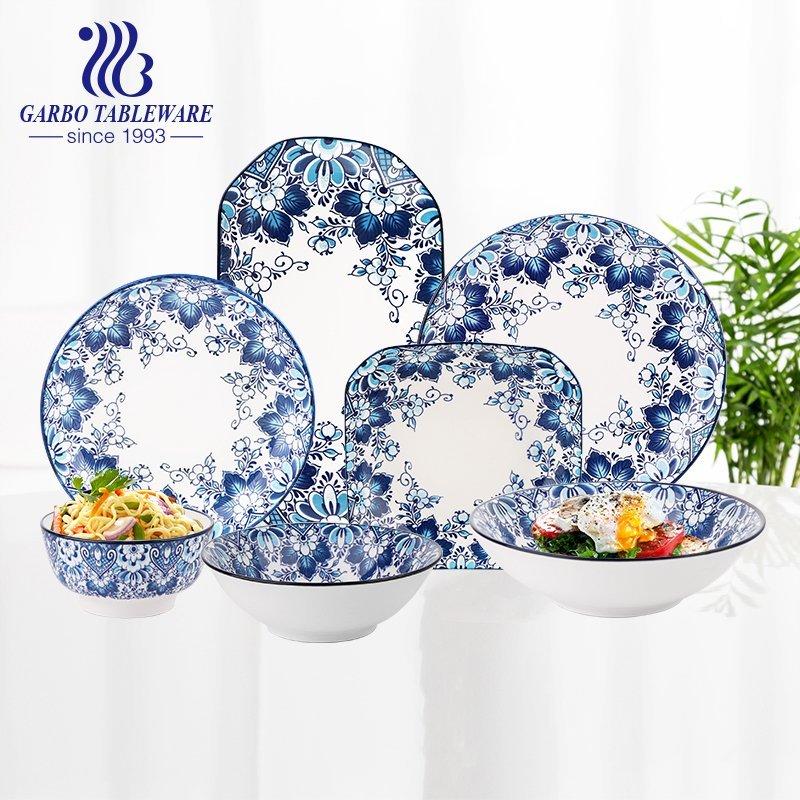 Why are under-glazed ceramic dinner sets so popular?