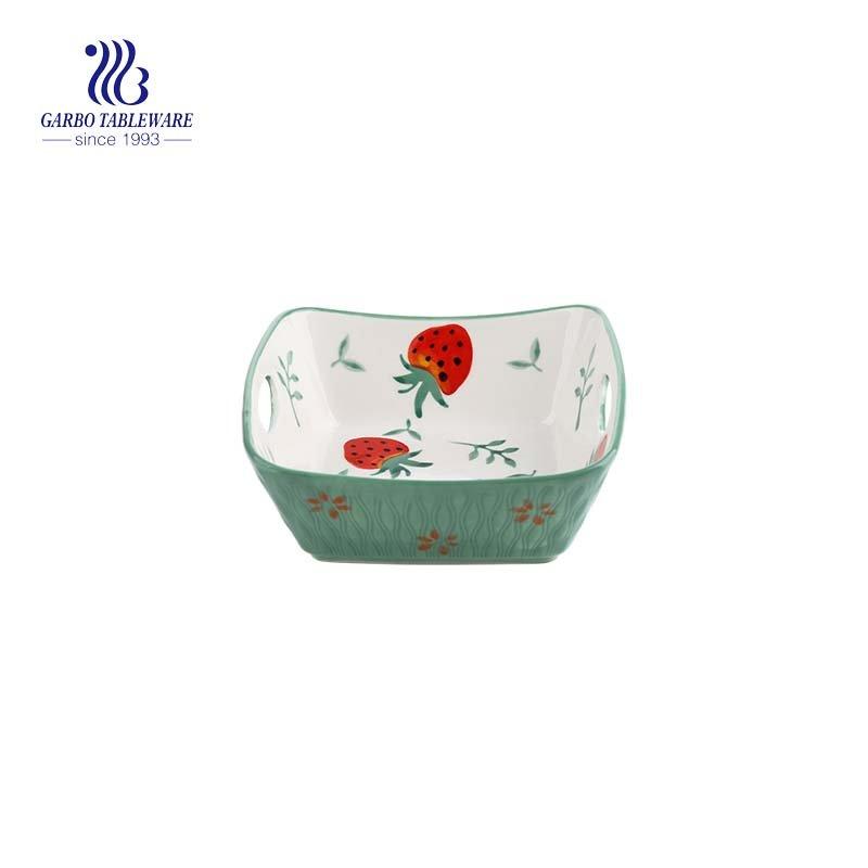 6 inch porcelain baking bowl