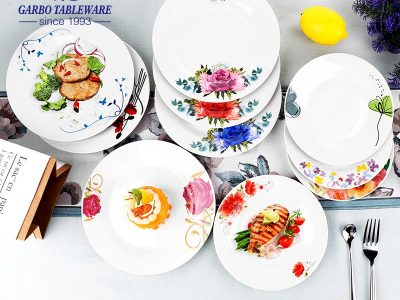 What's the diffference of Porcelain, Bone China and Stoneware