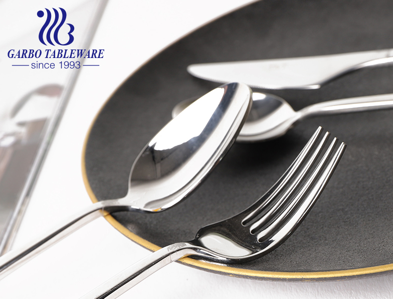 Middle East markets best selling gold stainless steel flatware