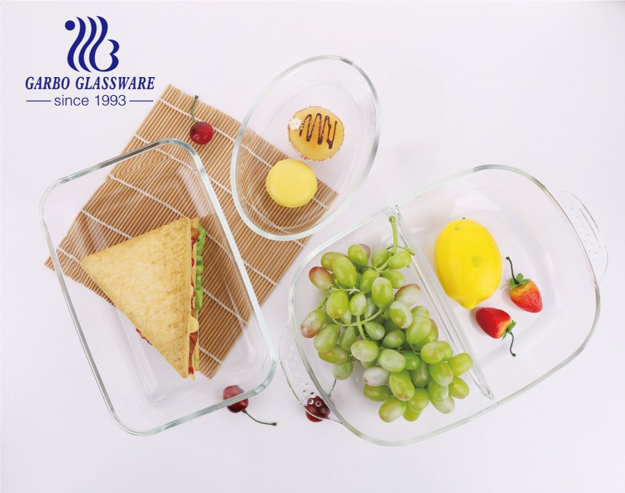 Borosilicate glass baking plate is useful in our daily life