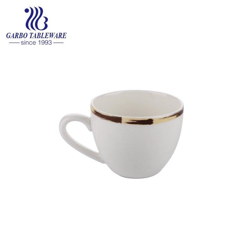 100ml porcelain coffee mug bone china