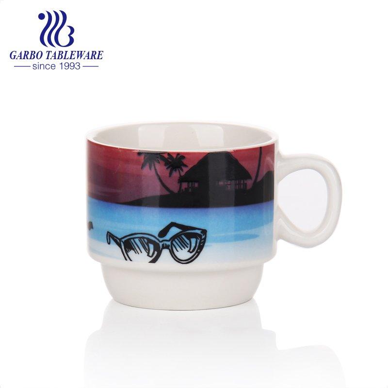 Ceramic vacation coffee mug