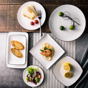 The tips for how to choose ceramic dinnerware and how to use it for different food.