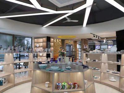 Garbo International Keramik Geschirr, Glaswaren , Edelstahl Besteck und Küchengeschirr Online-Show auf Alibaba im März.