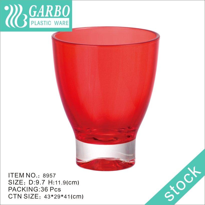 copo de cerveja de policarbonato vermelho