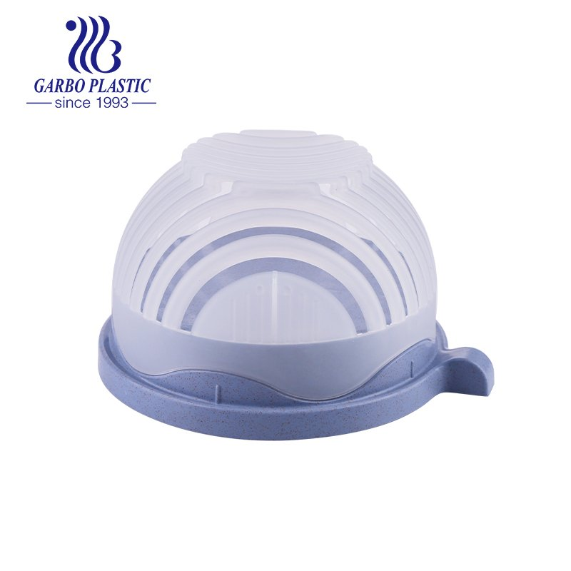 bowl with a small handle and a silicone lid for daily use