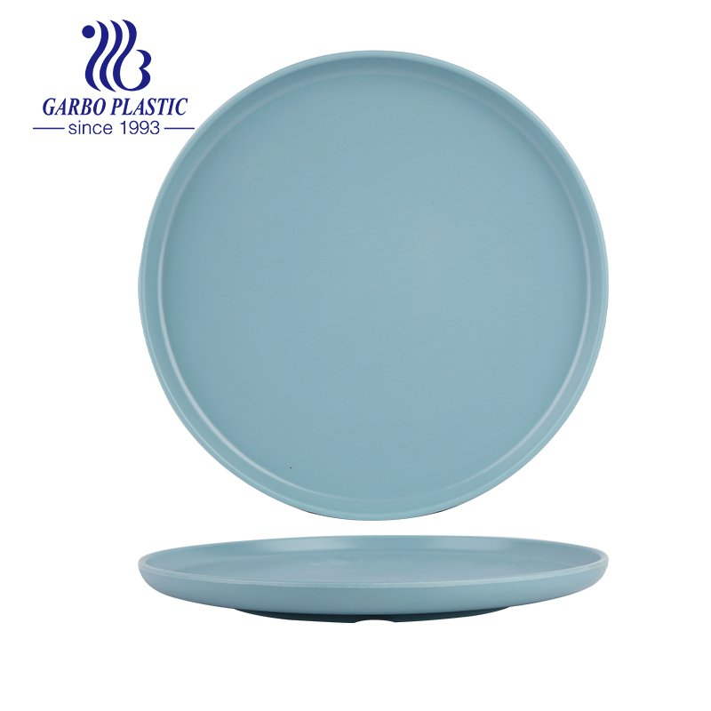 round plastic serving dish for outdoor use