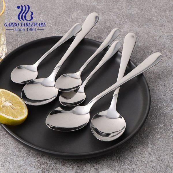 430/410/304 لون مربع حزمة 24 قطعة مجموعات الفولاذ المقاوم للصدأ الحلوى الشاي ملعقة عشاء للبيع
