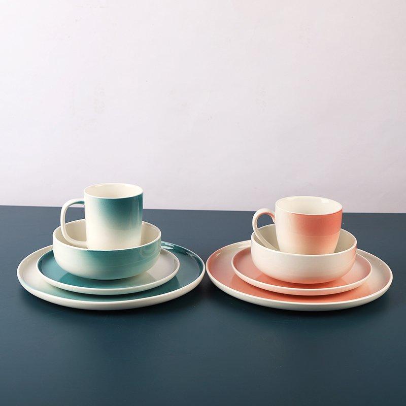 Elabore sobre as 8 diferenças entre o vidrado inferior e o vidrado superior de utensílios de mesa de porcelana