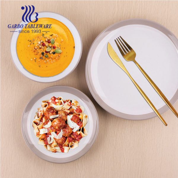 18pcs ceramic dinner set