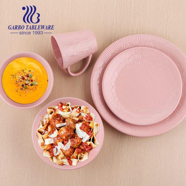 20pcs ceramic tableware set