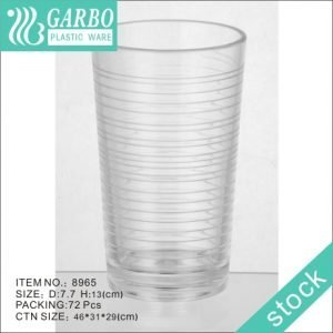 Plastic Unbreakable Cup 35cl reusable polycarbonate juice tumbler