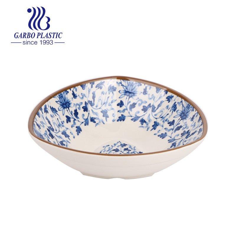 plastic fruit dessert bowl with customized design
