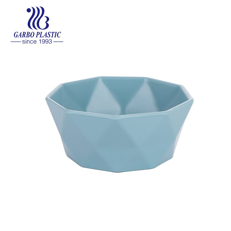 plastic fruit salad bowl with smooth edge from China factory