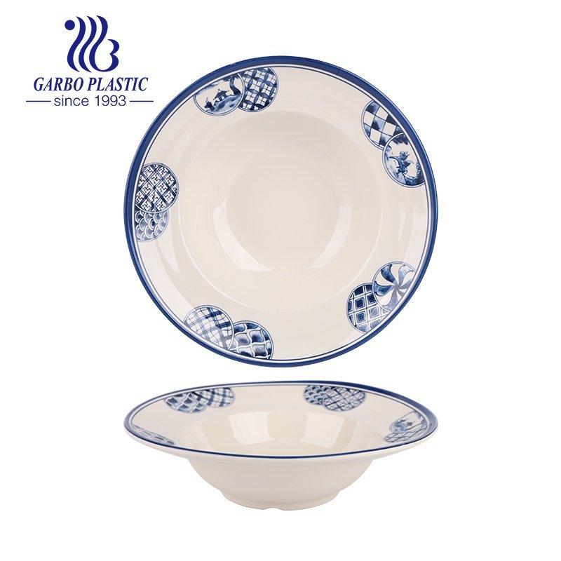 Plastic soup plate