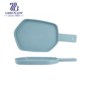 All season Irregular shaped big size strong plastic baking serving dish with handle for home kitchen without breakage