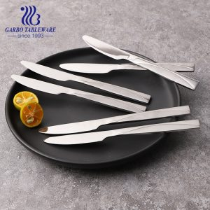 Cheap Price Stainless Steel Dinner Knife 9 inch Set of 12 pcs Suitable for Promotion
