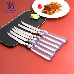High Quality Stainless Steel Tableware Flatware Sets for Dinner Travel Camp Work Picnic