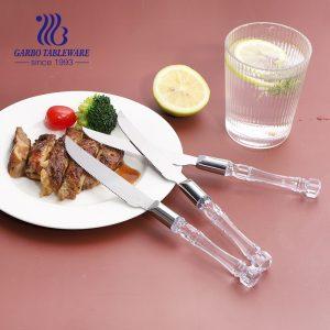 410 stainless steel steak knife tableware flatware cutlery