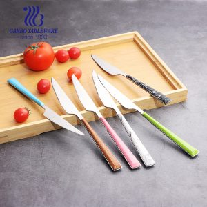 Dishwasher Safe Food Grade Stainless Steel Dinner Knife with ABS handle for Home Restaurant