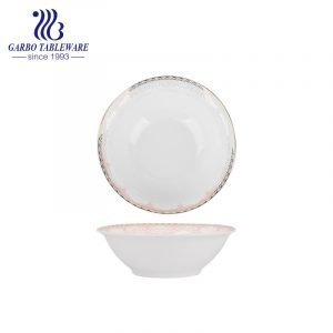 New arrival of bone china small rice bowl for wholesale