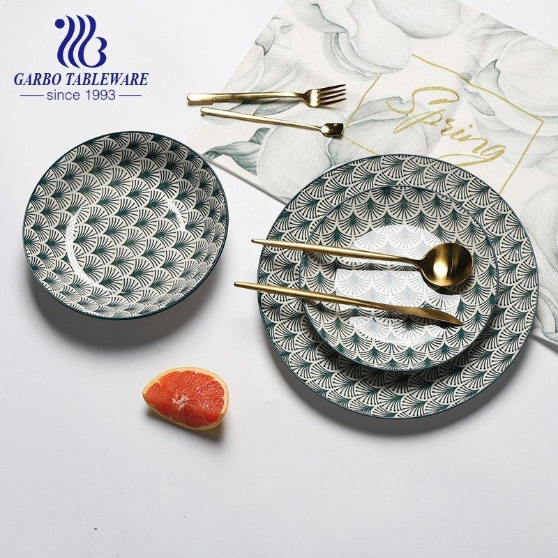flat ceramic plates