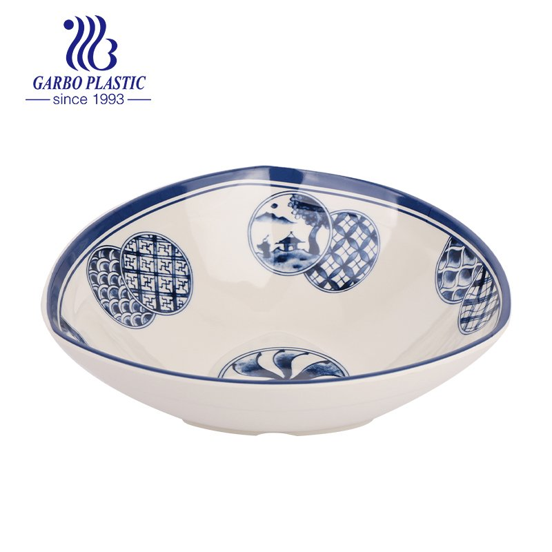 bowl with a vintage pattern for table use