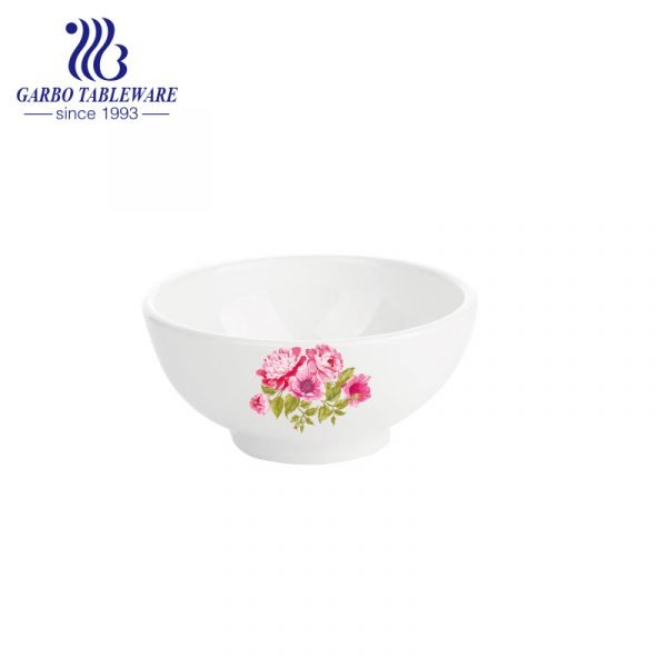 porcelian bowl with decal