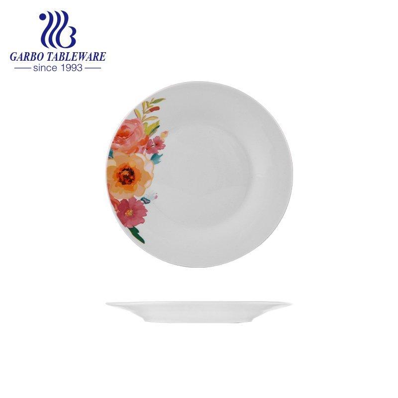 9inch plain ceramic plate