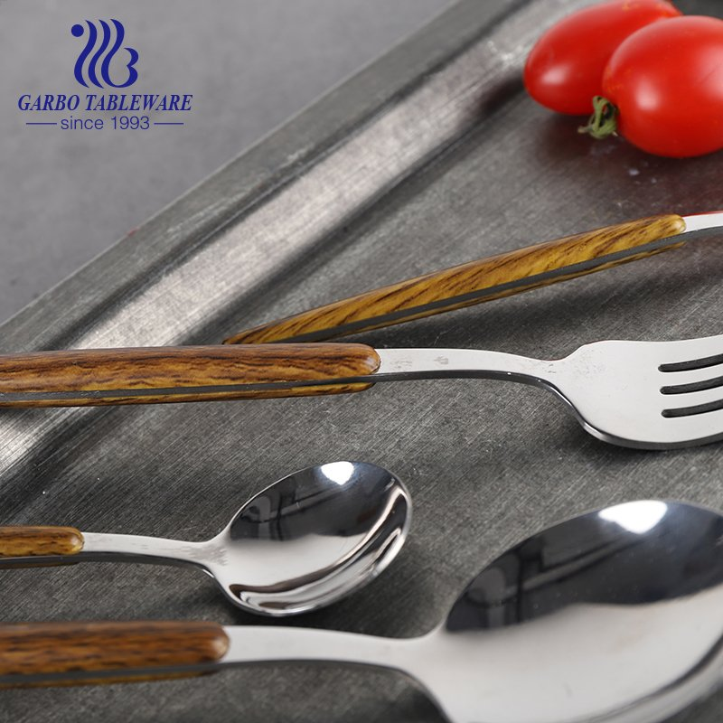 How to clean stainless steel tableware