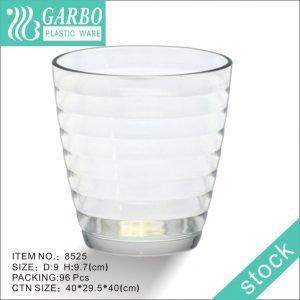 Vaso en círculo de policarbonato transparente barato pupular de 12 oz