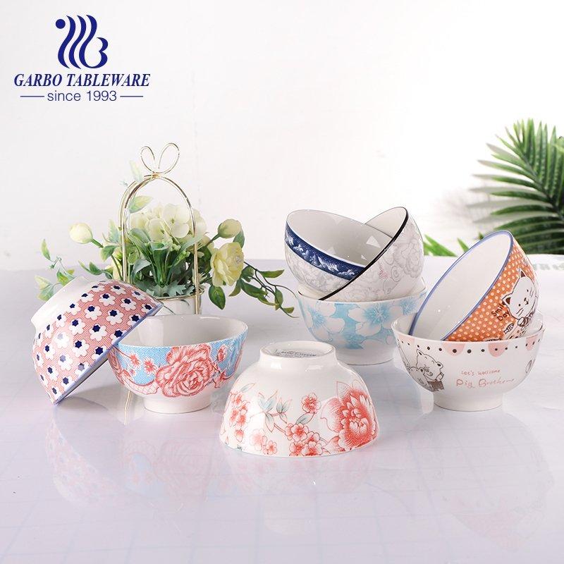 underglazed ceramic bowl