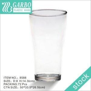 Vaso de cerveza alto de policarbonato transparente al por mayor
