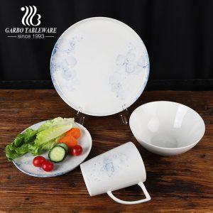 Новый дизайн брызг чернил высококачественная фарфоровая посуда