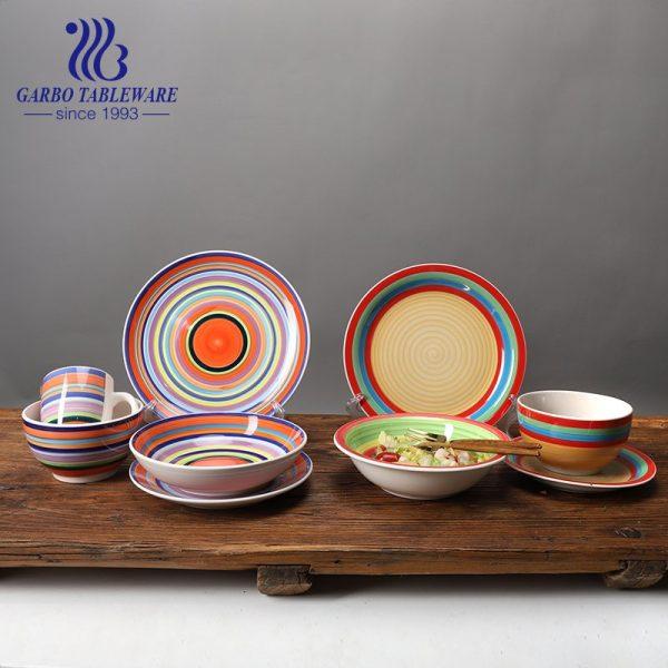 classic 16pcs ceramic dinner set