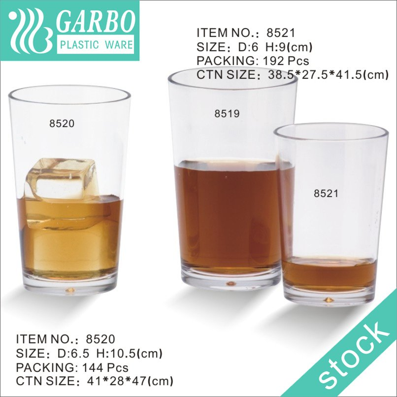 daily use polycarbonate drinking cup