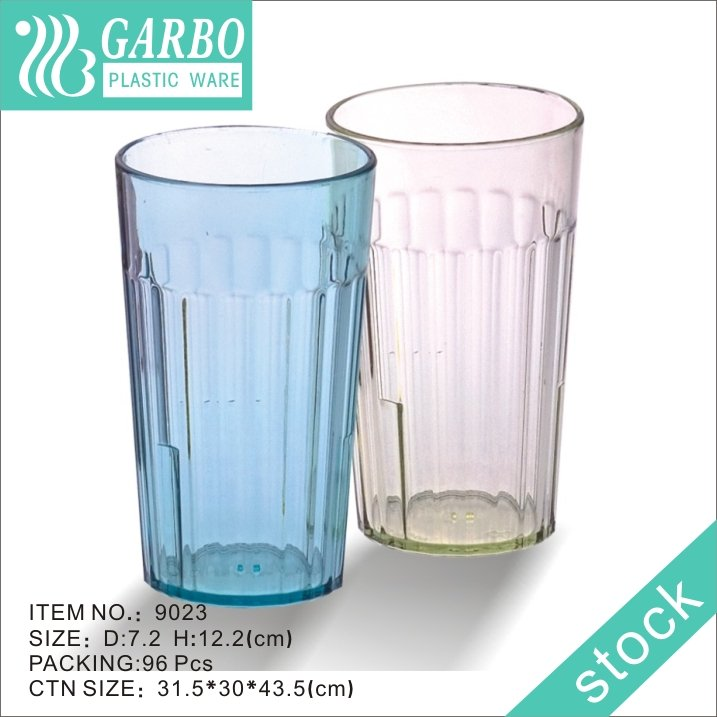 plastic water drinking glass cup