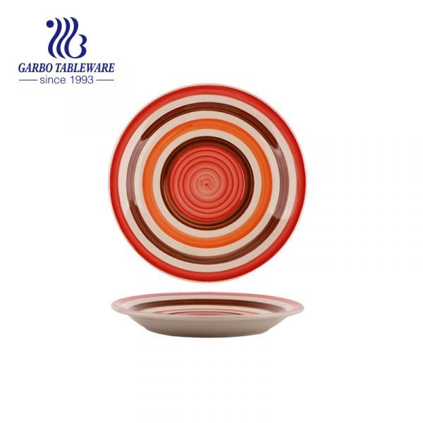Mini prato de sobremesa de cerâmica de 6.5 polegadas