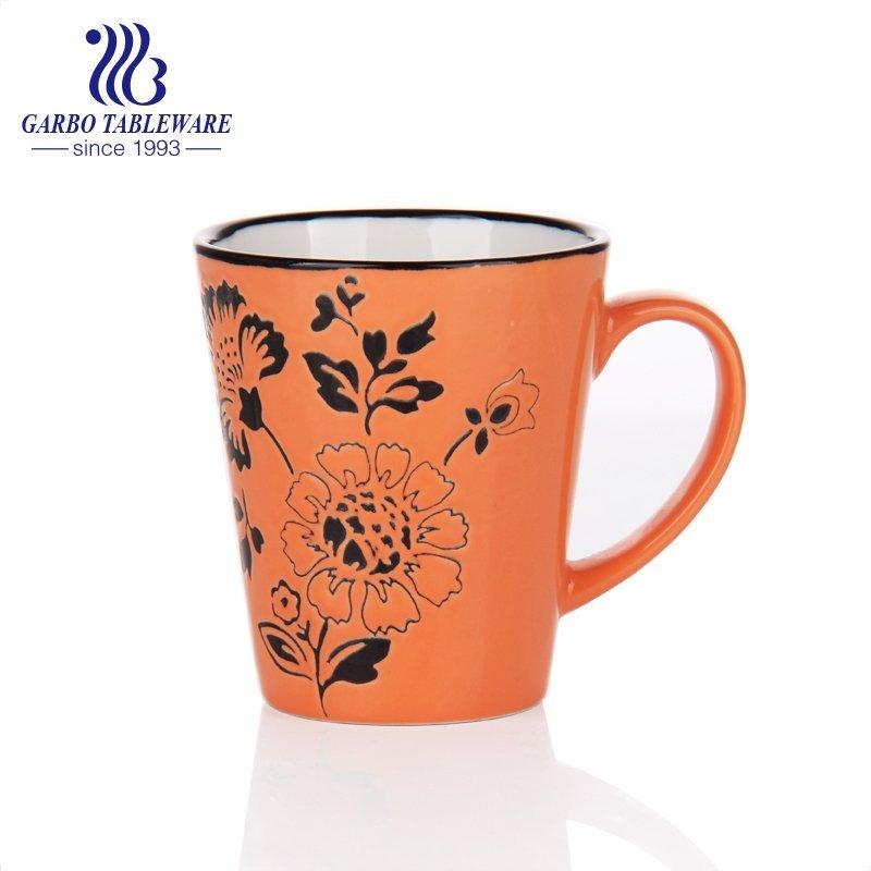 ceramic coffee drinking mug