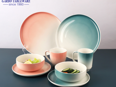 How to maintain the ceramic tableware