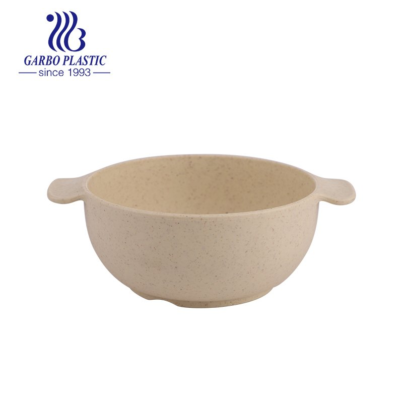 plastic cereal bowl with ear handle